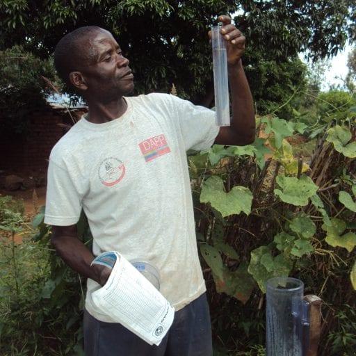 Malawian Farmers Record Rain Levels