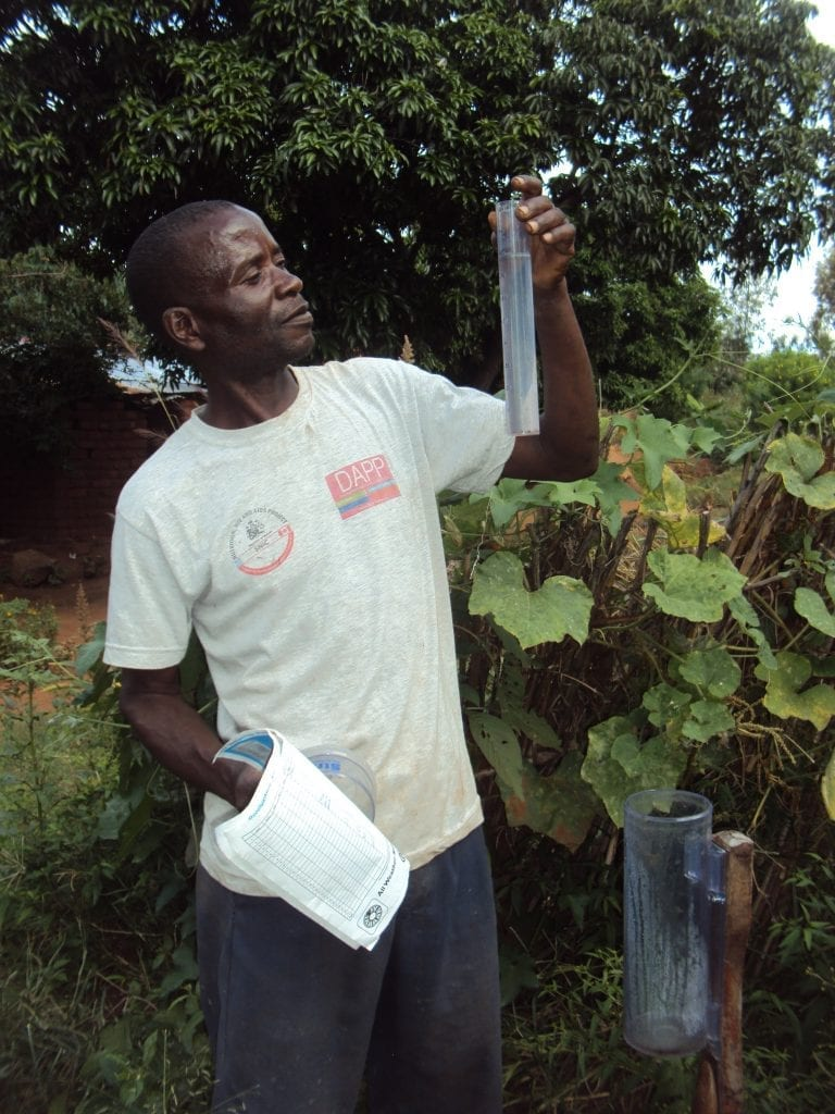 Malawian Farmers Record Rain Levels