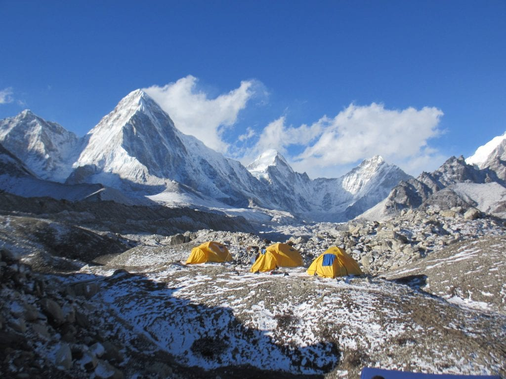 Tents at Everest