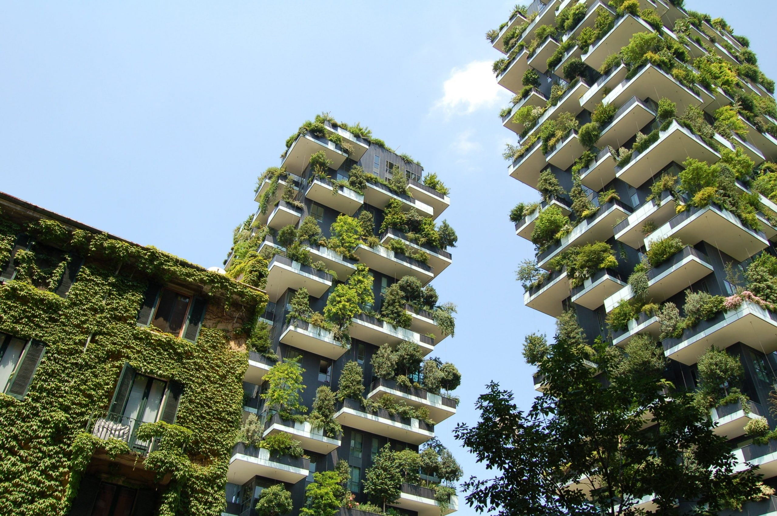 Green balconies