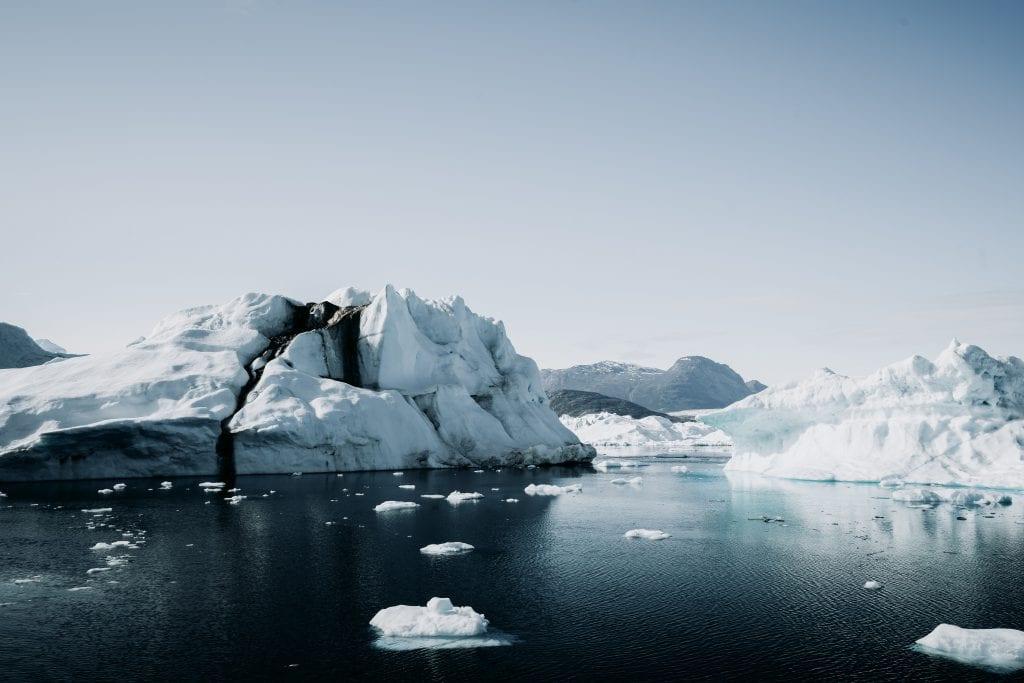 Melting iceberg, Climate change in 2019
