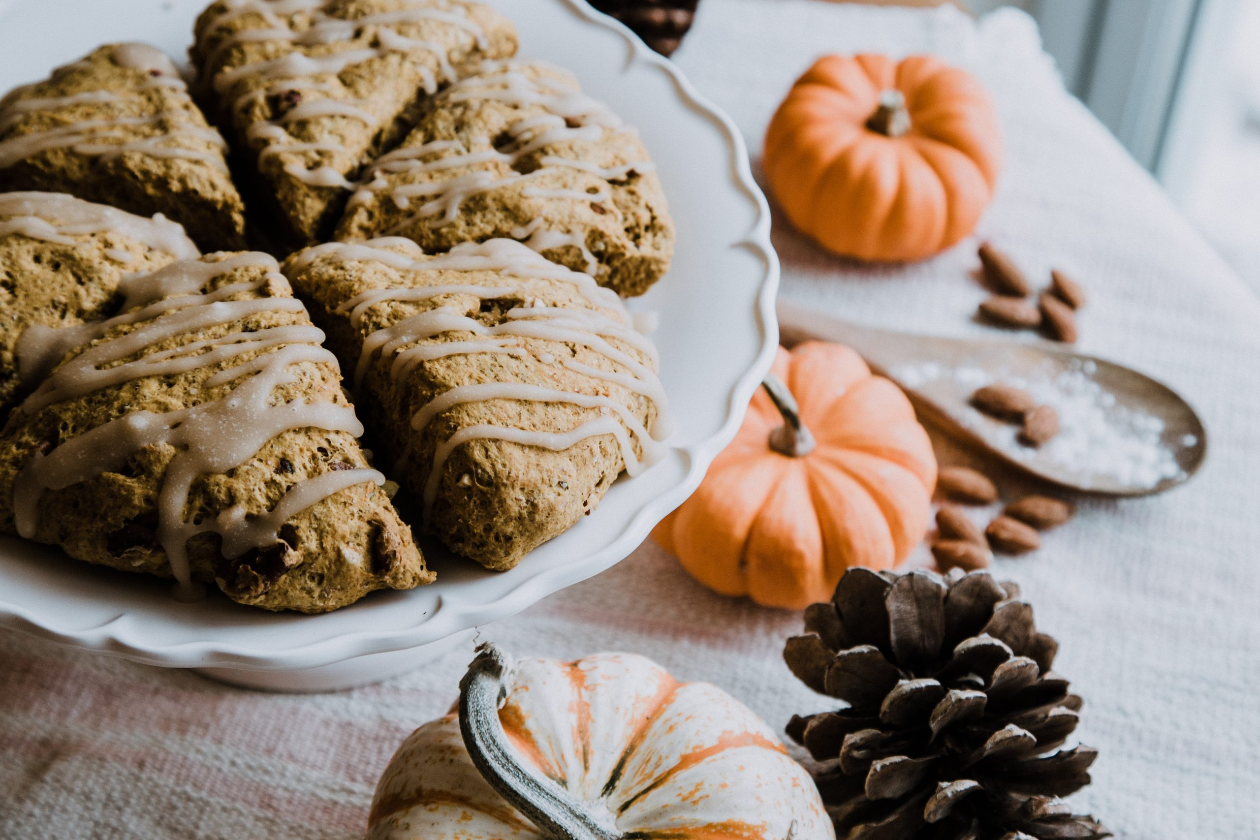 Pumpkin and cakes