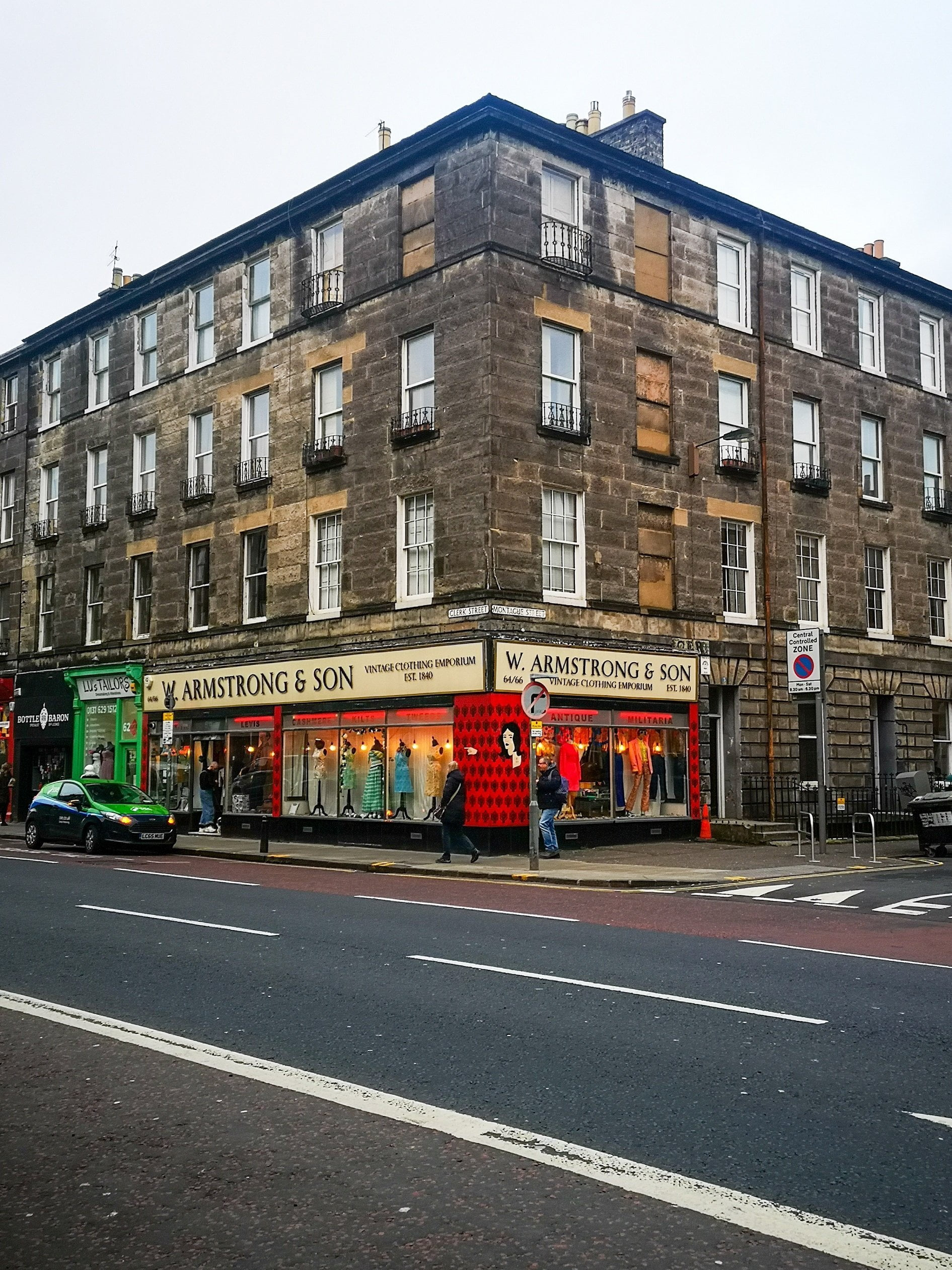 Armstrong & Son Vintage, Sustainable Edinburgh Guide