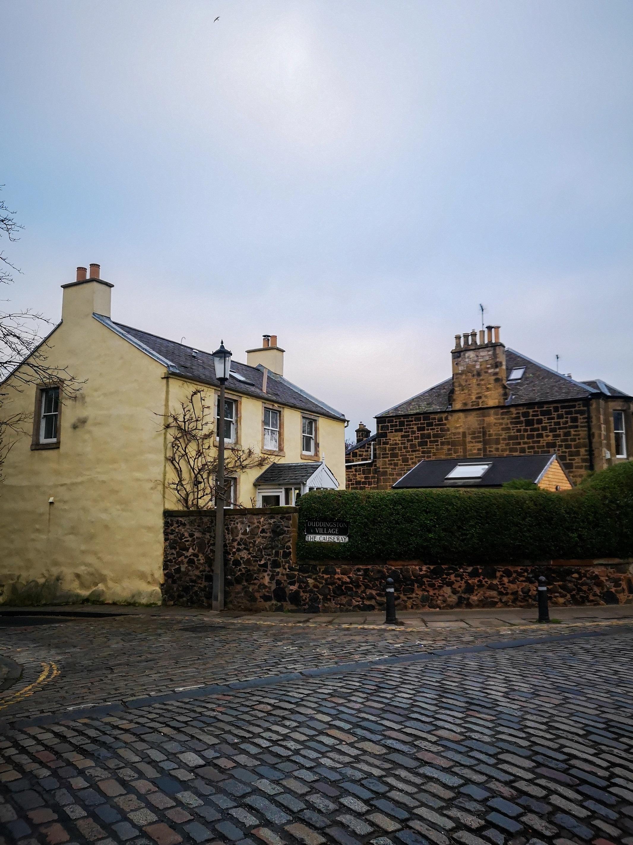 cobblestone intersection, Sustainable Edinburgh Guide