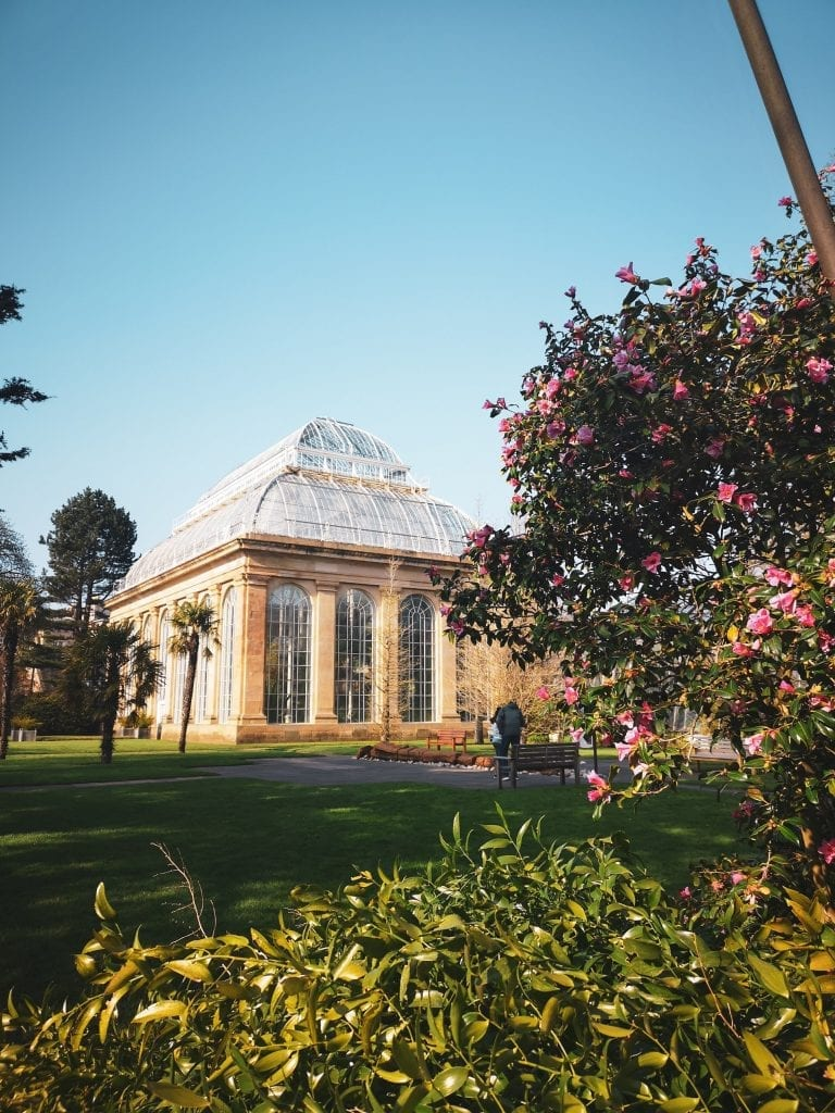 Edinburgh botanic garden and glasshouse, Sustainable Edinburgh Guide