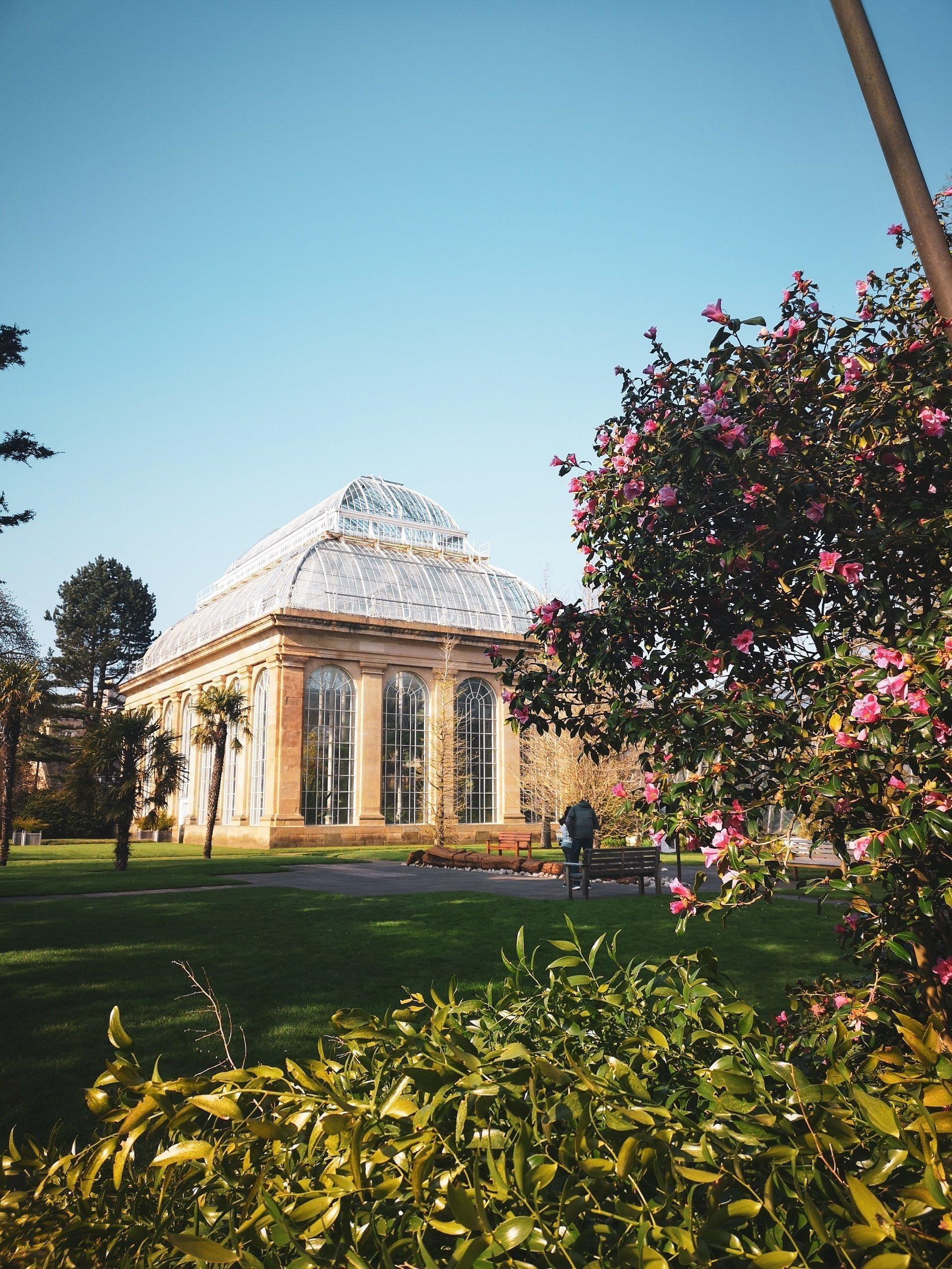 Edinburgh botanic garden and glasshouse, Sustainable Edinburgh Guide