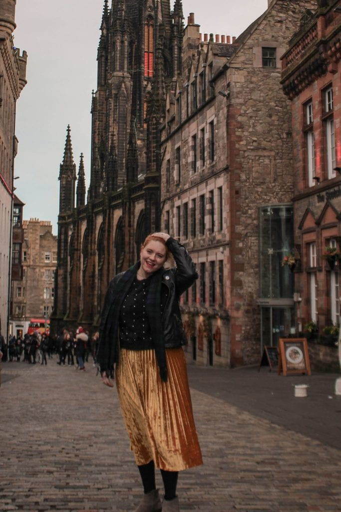 Royal Mile by Aga Lapucha