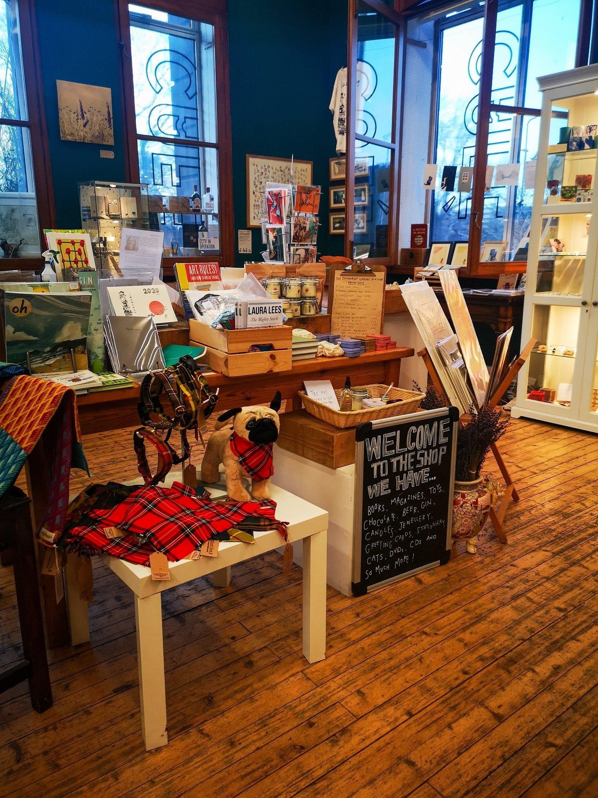 Summerhal shop interior, Sustainable Edinburgh Guide