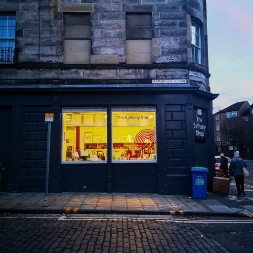 Bethany charity shop, Edinburgh