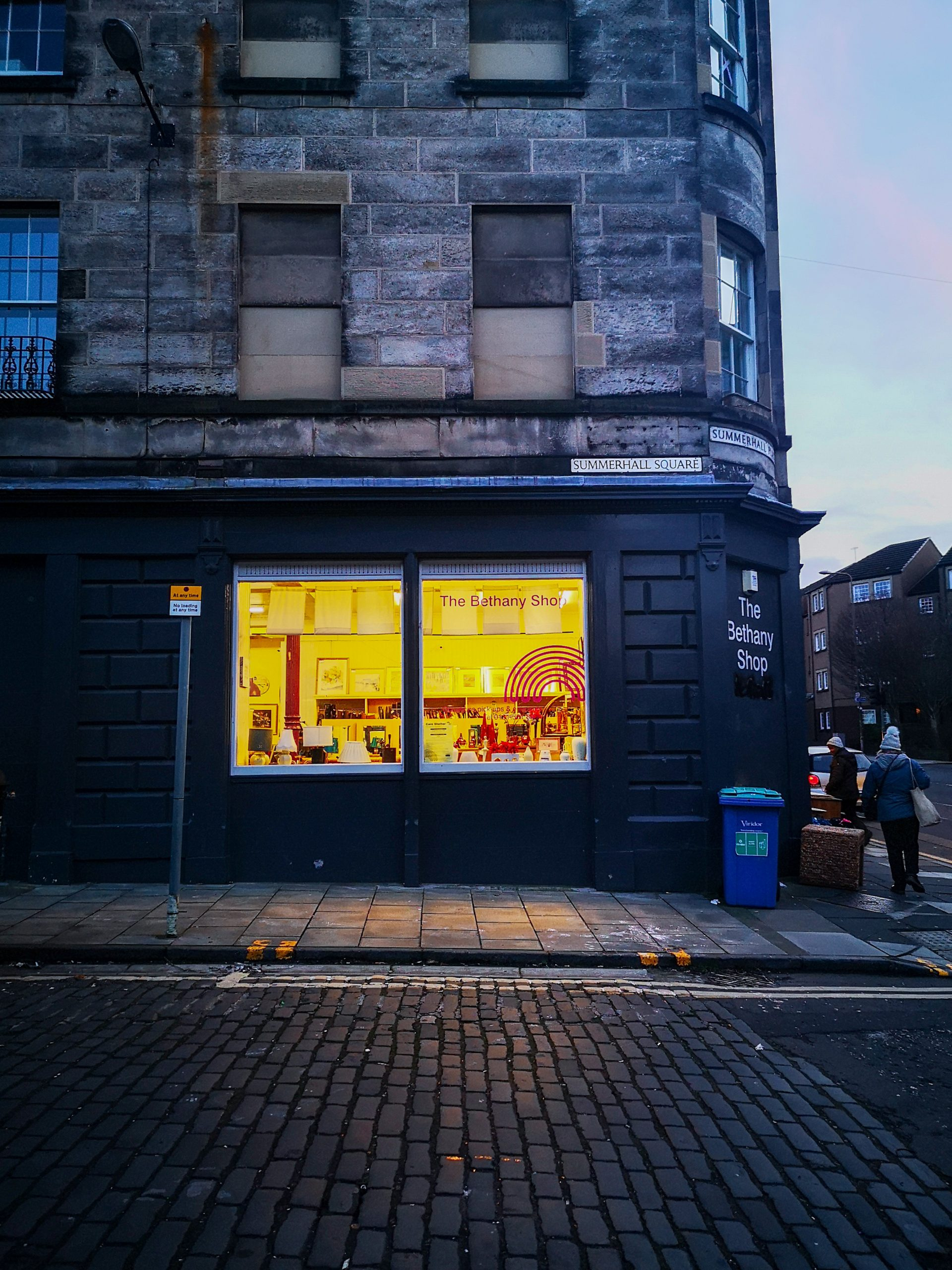 Bethany charity shop, Edinburgh