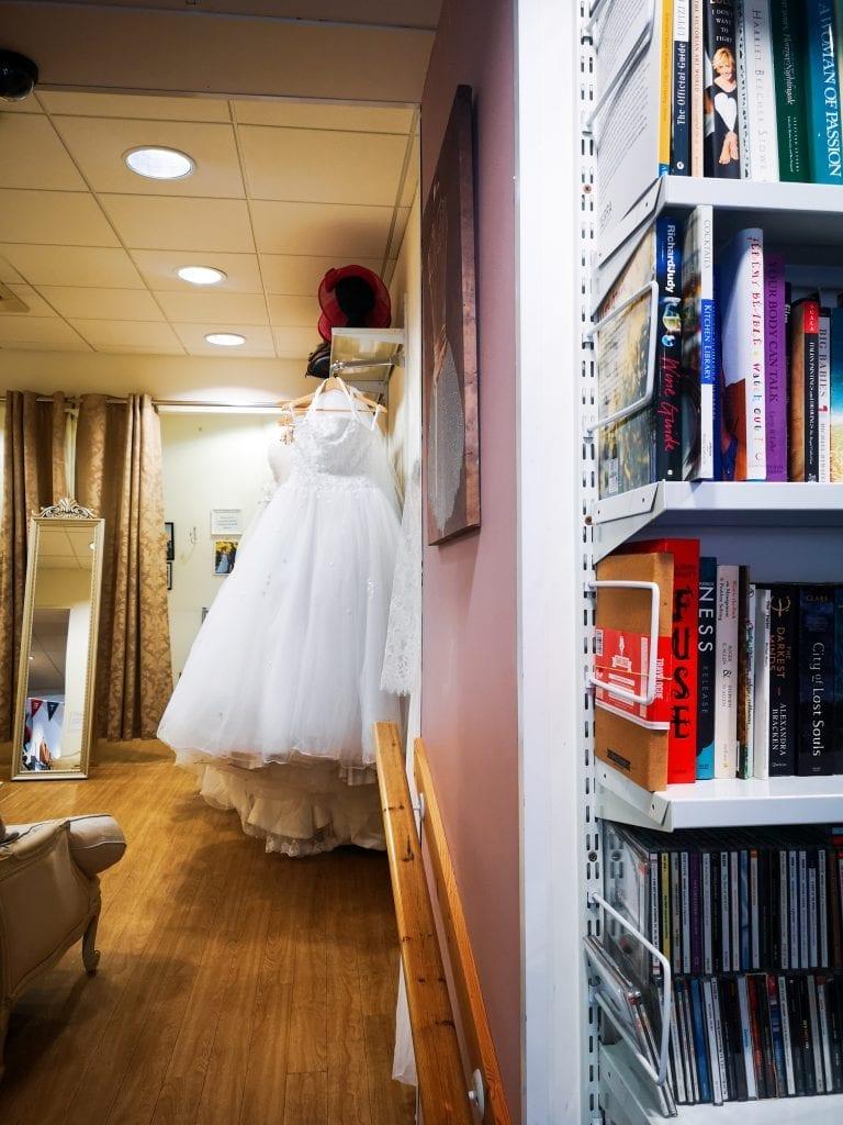 Inside British Red Cross, sustainable fashion in Edinburgh