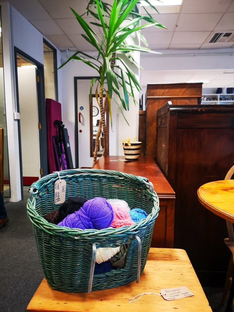 Inside Edinburgh Remakery, sustainable fashion in Edinburgh