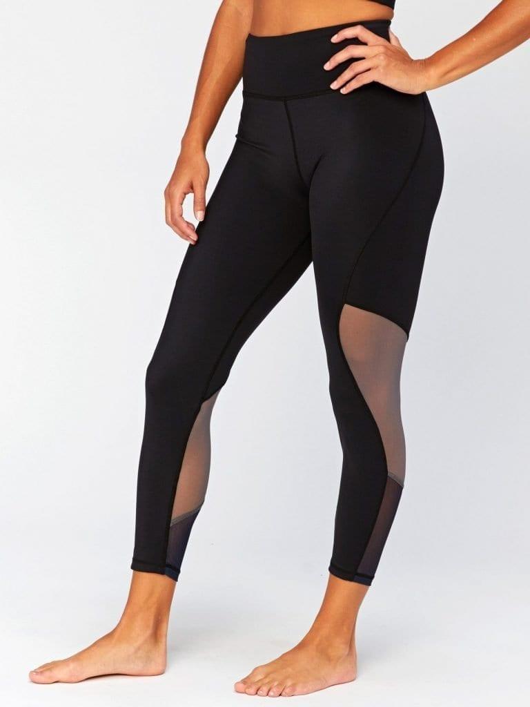 Woman legs, wearing leggings