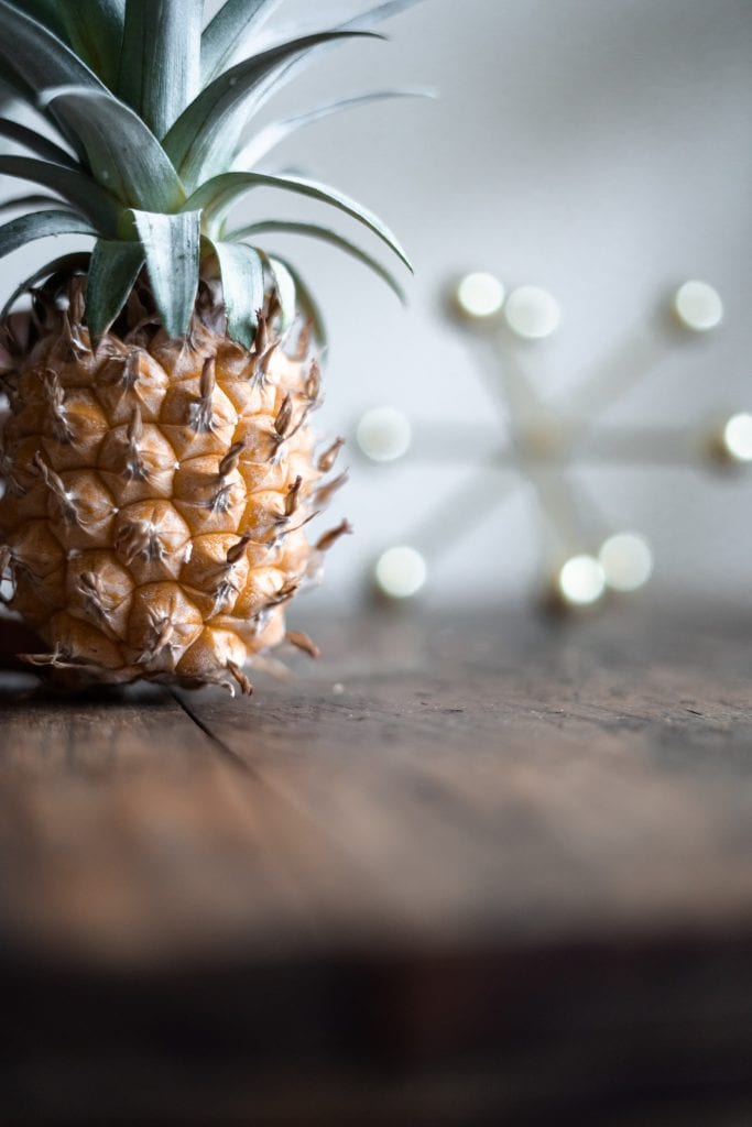 pineapple, used to make sustainable fabrics