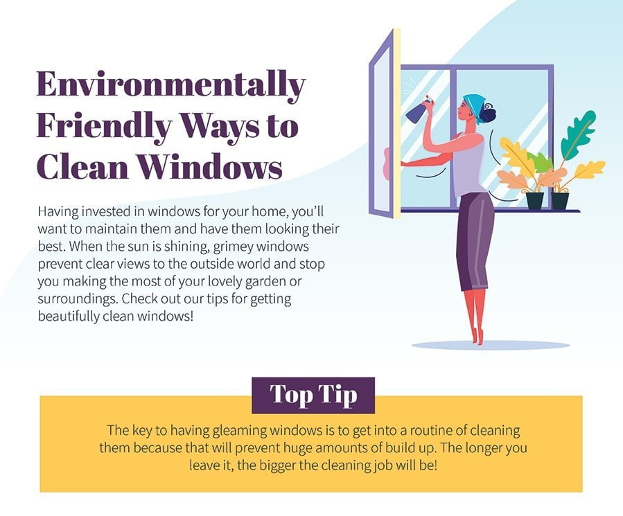 Environmentally friendly ways to clean windows