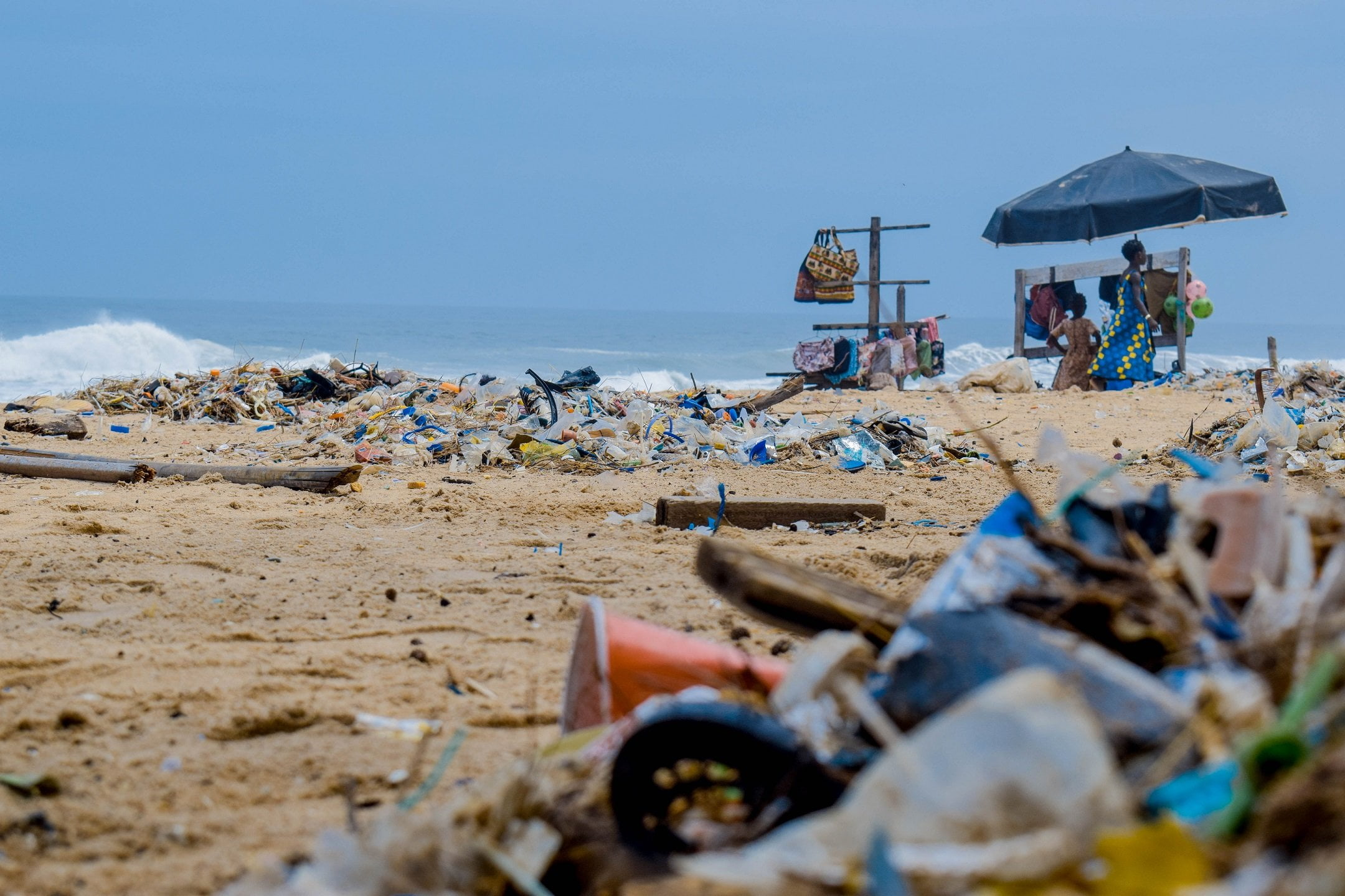 Trash on beach: Oceans are Turning into Landfills
