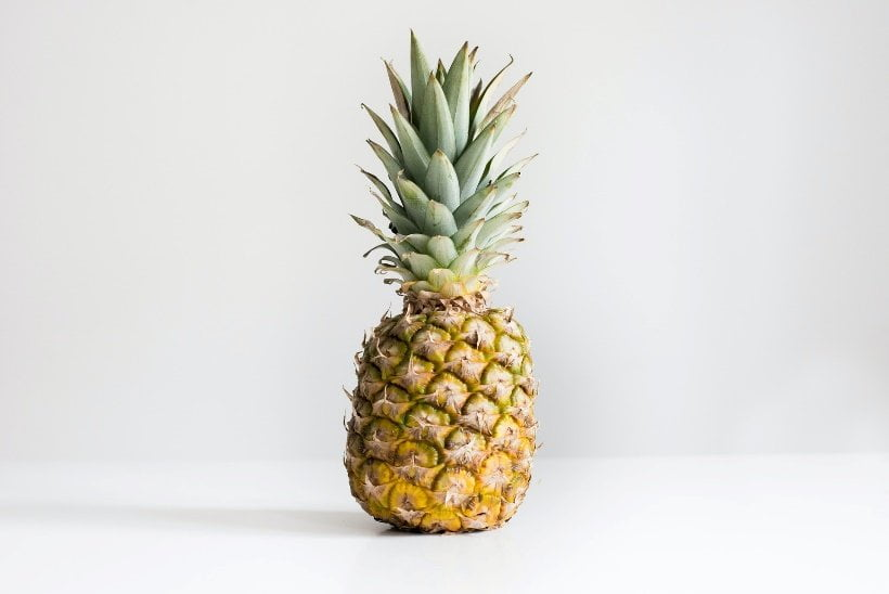 Pineapple is being made into vegan leather