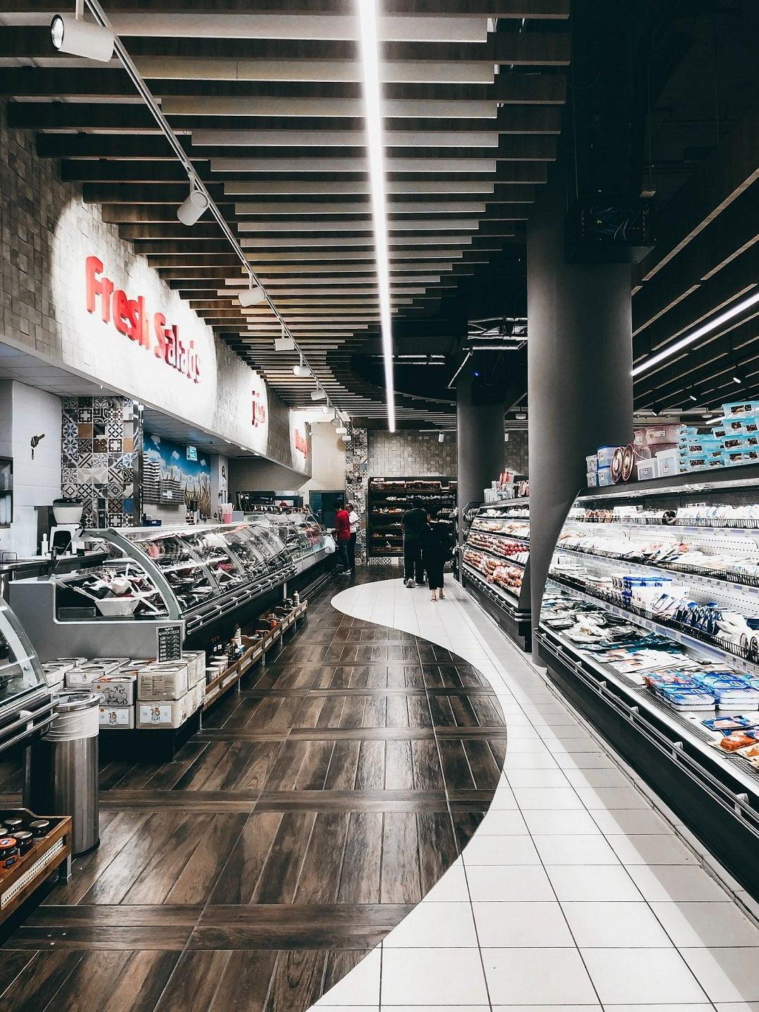 Supermarket deli