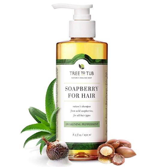 tree to tub, sustainable shampoo bottle