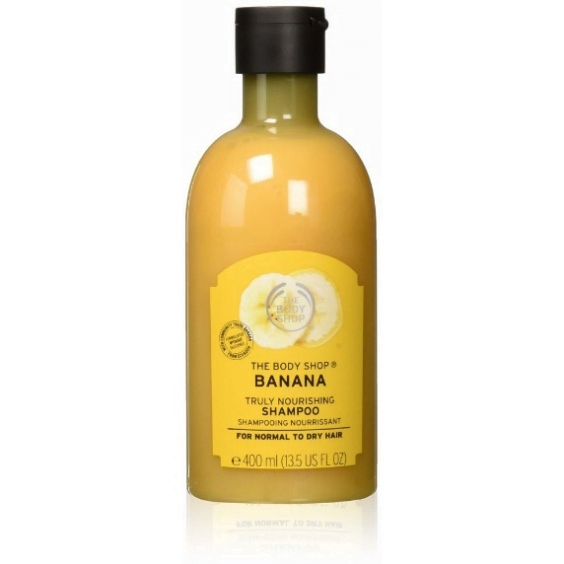 body shop, sustainable shampoo bottle