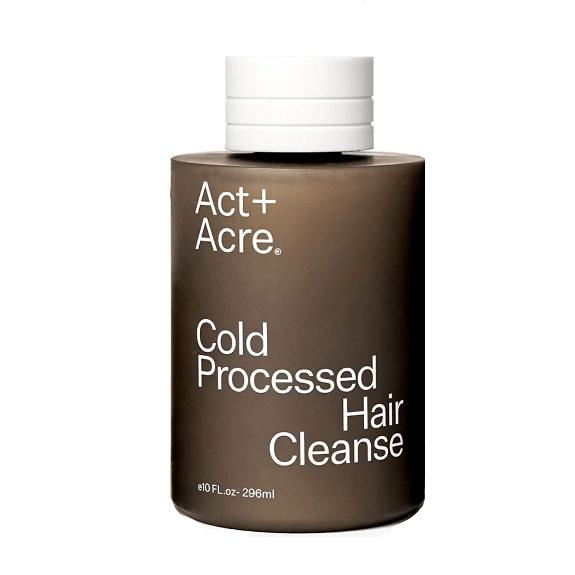act & acre sustainable shampoo bottle