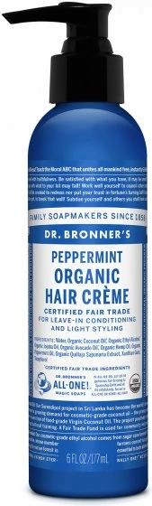 dr. bronner, sustainable shampoo bottle