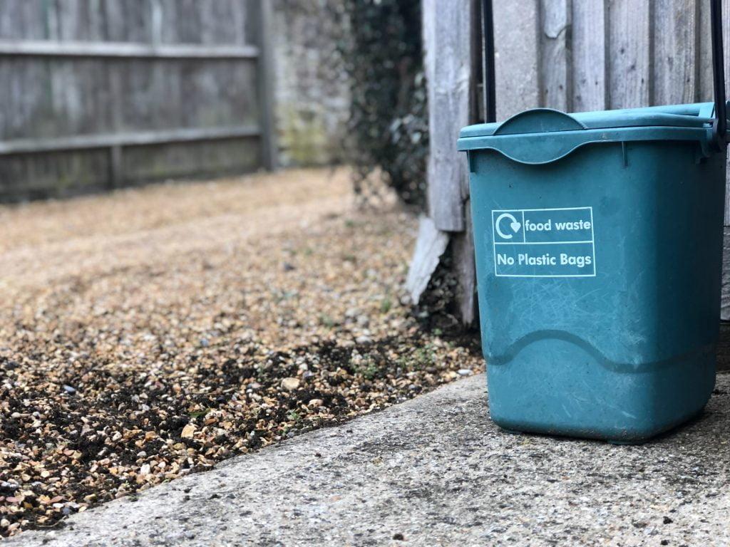 The way we eat:: A food waste pickup bin