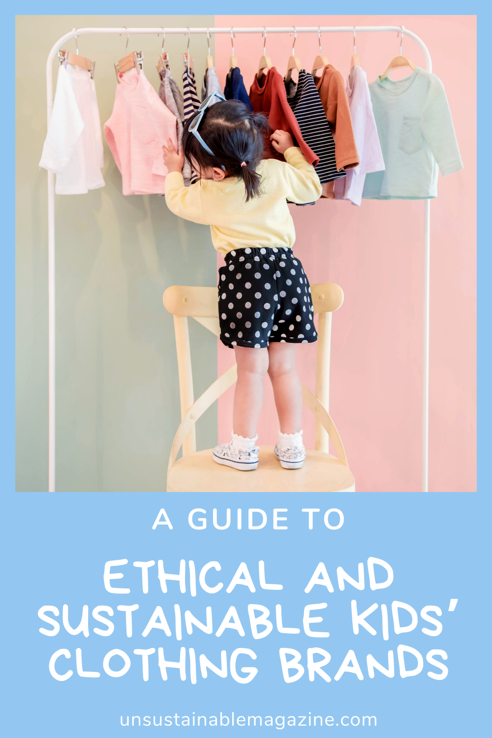 A guide to ethical and sustainable kids' clothing brands