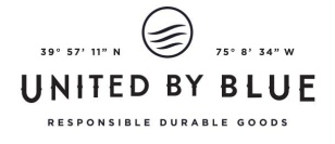UNITED BY BLUE, responsible durable goods