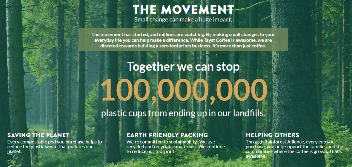 infographic: 100,000,000 plastic cups are in landfill