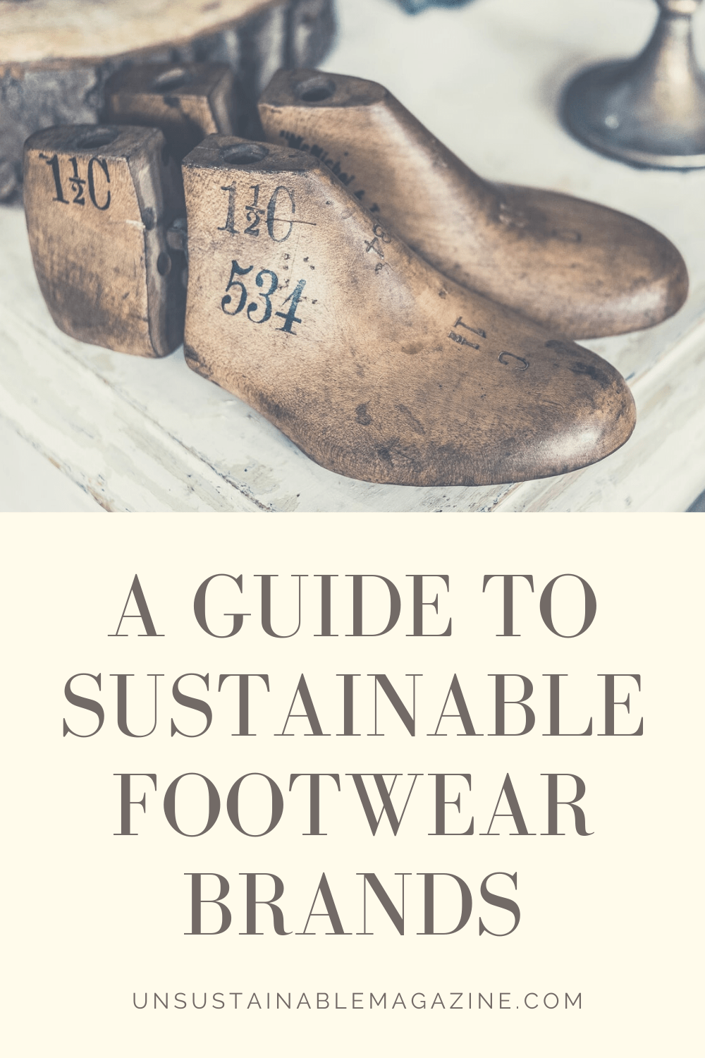 A guide to sustainable footwear brands