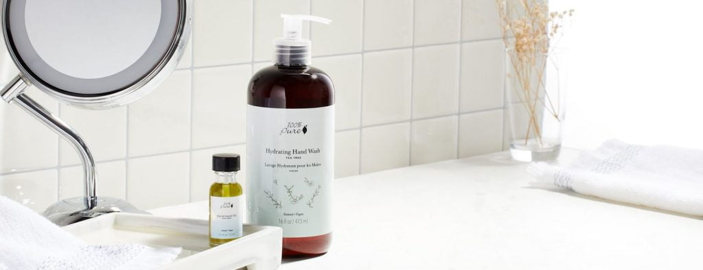 handwash by 100% pure, organic skin care