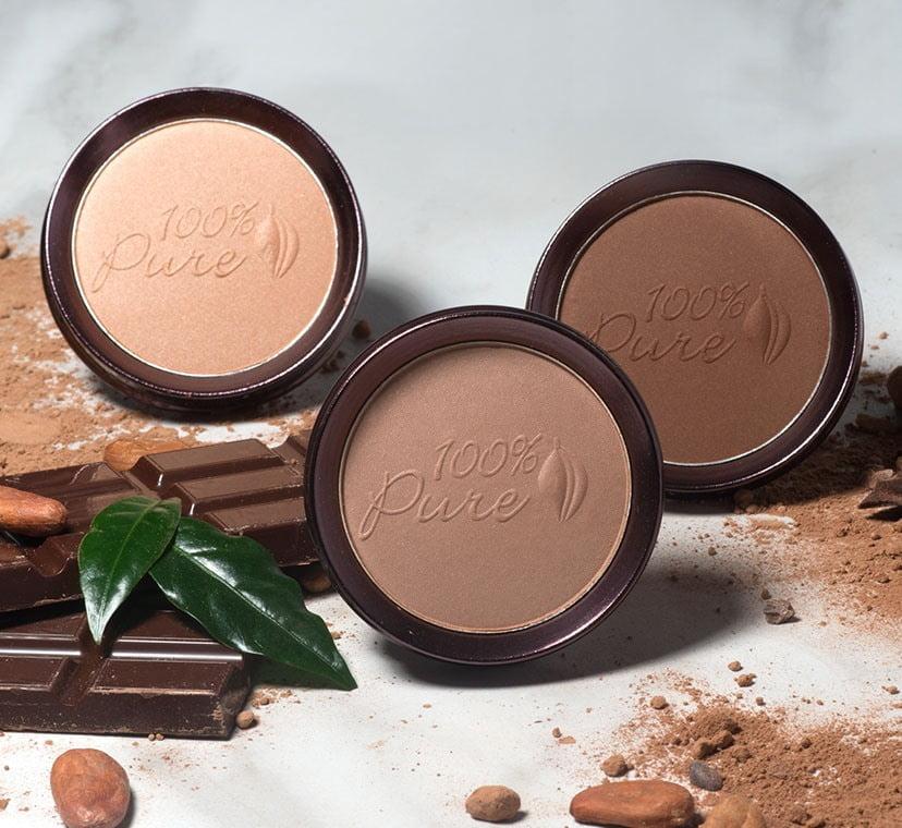 100% pure samples of comsmetics