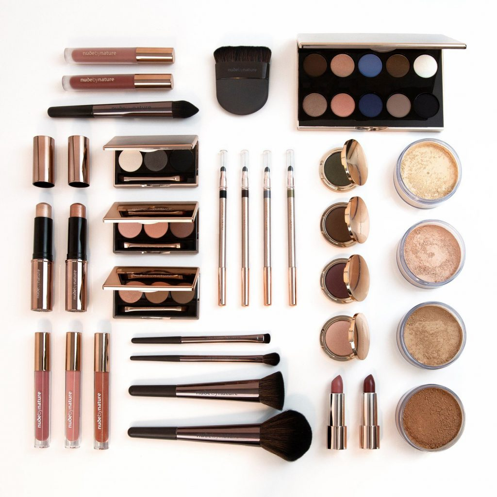 Nude by Natures array of sustainable makeup tools