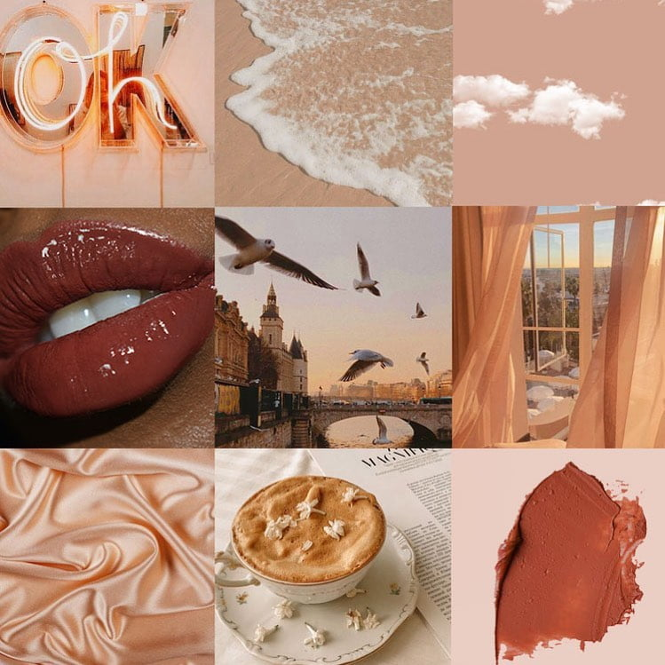 photos from Paris, coffee, lips, silk, paints, by Shade M Beauty