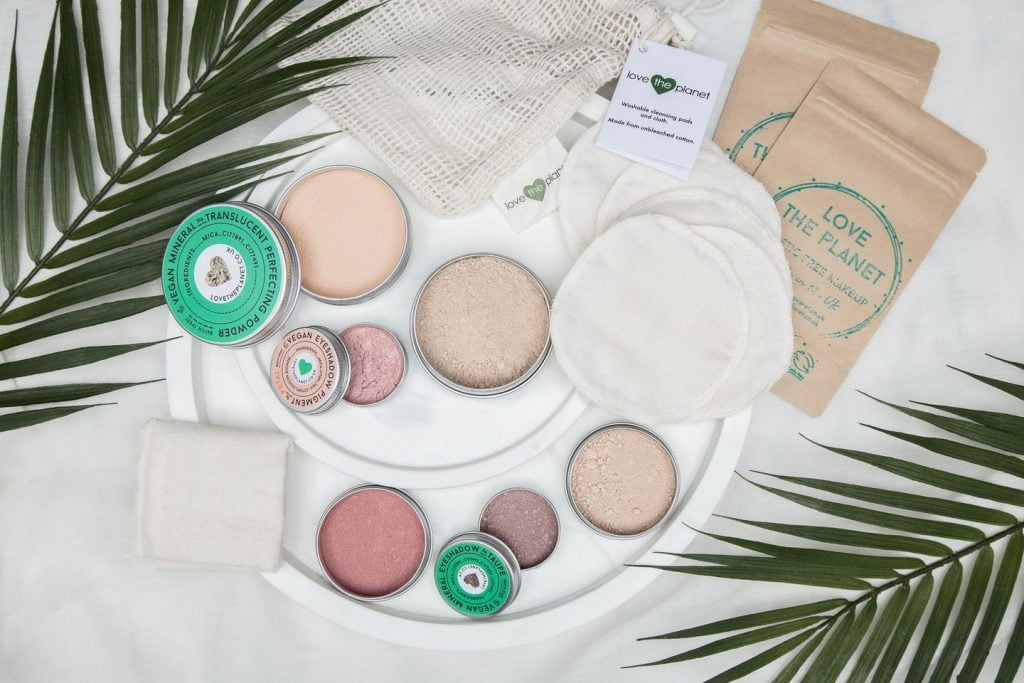 Love the Planet cosmetics products