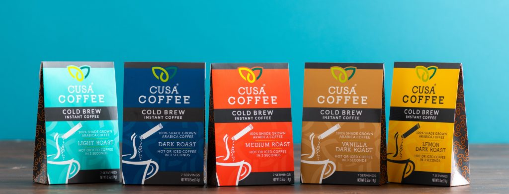 cusa coffee packets