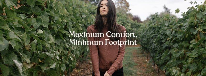 maximum comfort, minimum footprint
