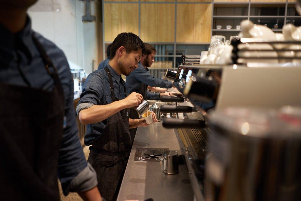 Blue Bottle Coffee Cafe Japan