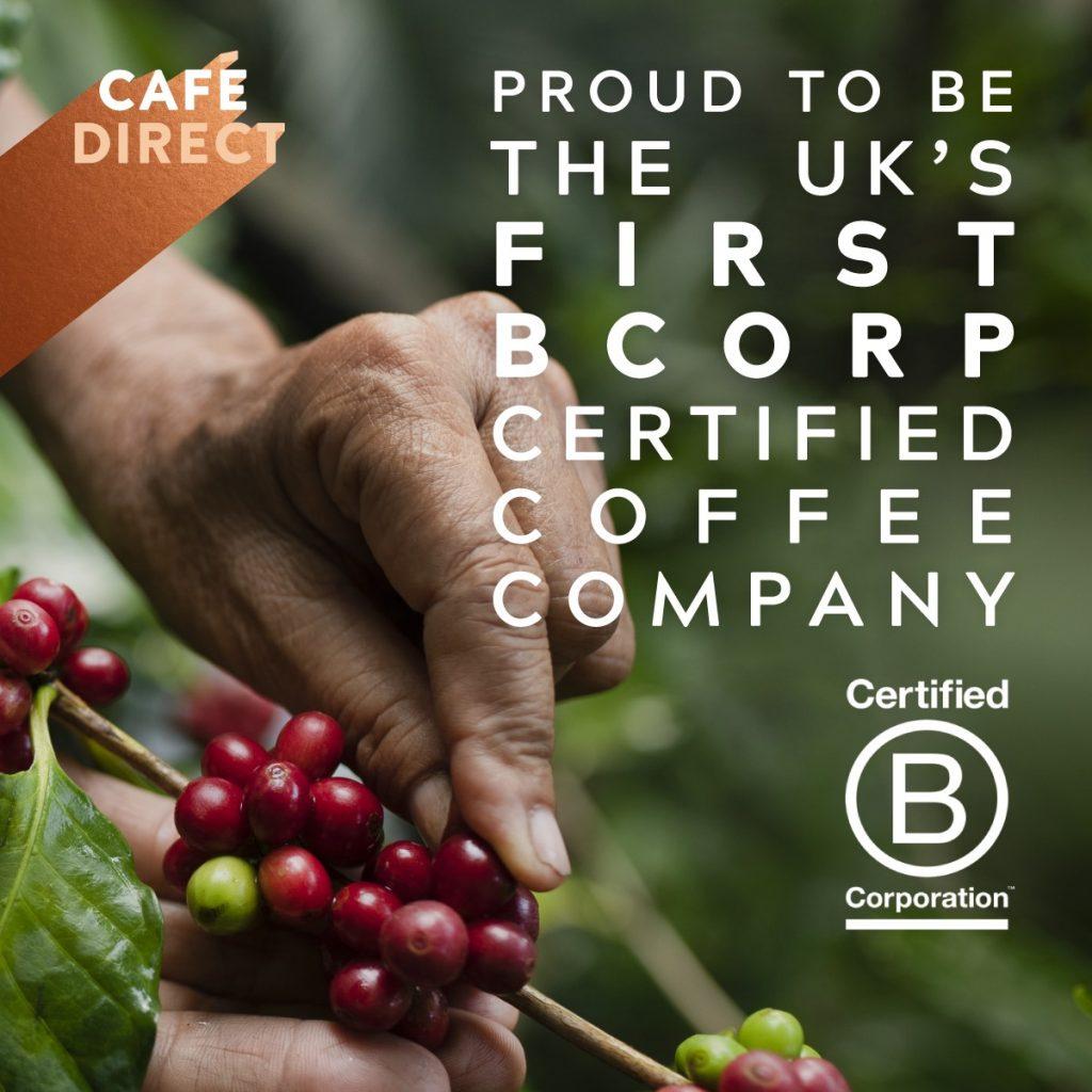 fair trade coffee certified b corp
