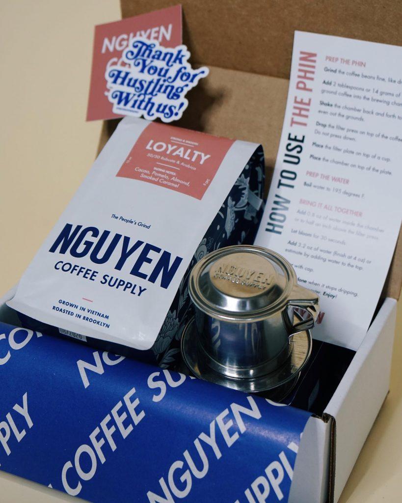 nguyen fair trade coffee pack