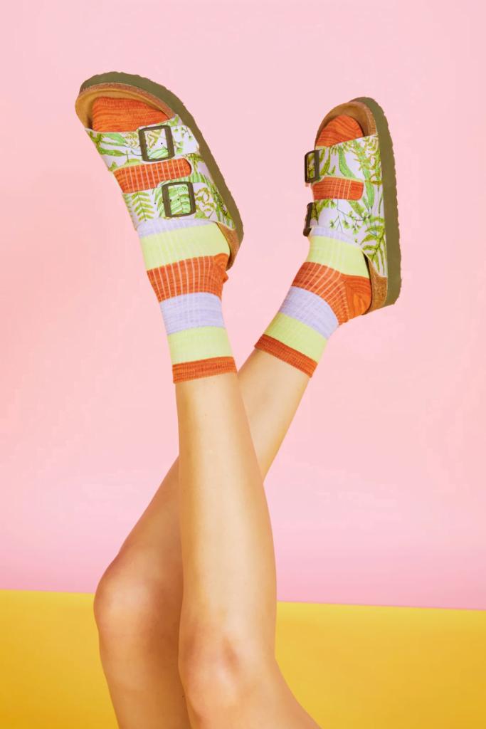 Gorman's patterned sandals