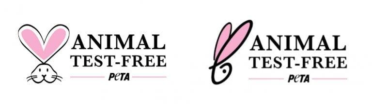 peta animal test free logo