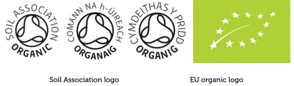 soil association logos