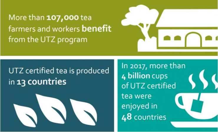 infographic: benefits of UTZ