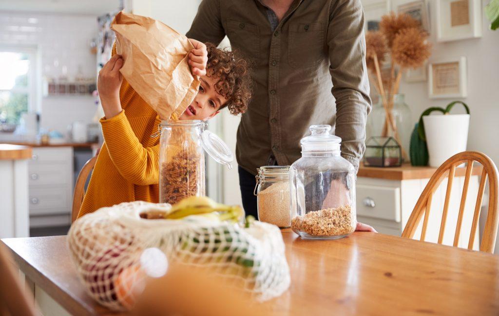 Zero Waste Sustainable Home Breakfast