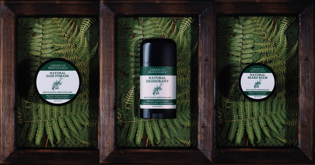 American Provenance deodorants