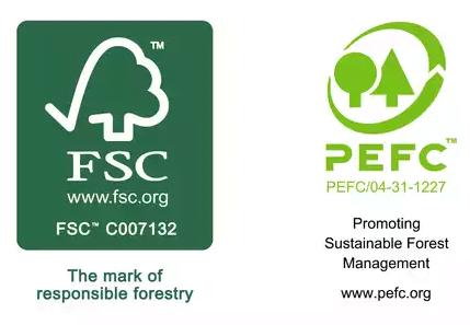 fsc and pefc logos