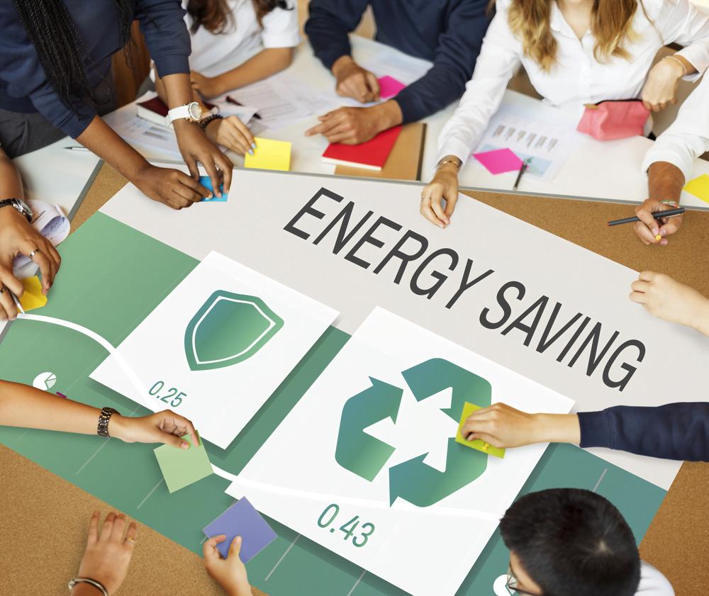 energy saving idea board